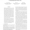 Condition Evaluation for Speculative Systems: a Streaming Time Series Case
