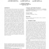 Conductance and congestion in power law graphs