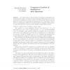 Congruence Lattices of Semilattices with Operators