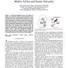 Connectivity and critical point behavior in mobile ad hoc and sensor networks
