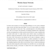 Connectivity maintenance and coverage preservation in wireless sensor networks