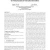 Consistency techniques for interprocedural test data generation