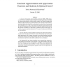 Consistent Approximations and Approximate Functions and Gradients in Optimal Control