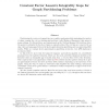 Constant Factor Lasserre Integrality Gaps for Graph Partitioning Problems
