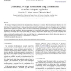 Constrained 3D shape reconstruction using a combination of surface fitting and registration