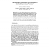Constrained Flow Optimization with Applications to Data Gathering in Sensor Networks