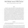 Constrained Tensor Modeling Approach to Blind Multiple-Antenna CDMA Schemes