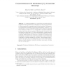 Constrainedness and Redundancy by Constraint Ordering