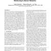 Constraint chaining: on energy-efficient continuous monitoring in sensor networks