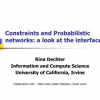 Constraints and Probabilistic Networks: A Look At The Interface