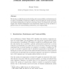 Constructibility and decidability versus domain independence and absoluteness