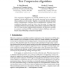 Constructing Word-Based Text Compression Algorithms