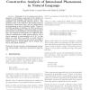 Constructive Analysis of Intensional Phenomena in Natural Language