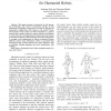 Contact Consistent Control Framework for Humanoid Robots