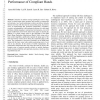 Contact sensing and grasping performance of compliant hands