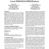 Context-aware telephony: privacy preferences and sharing patterns
