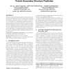 Context sensitive vocabulary and its application in protein secondary structure prediction