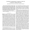 Contextual Communications Congestion Control for Cooperative Vehicular Networks