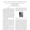 Control in a 3D Reconstruction System using Selective Perception
