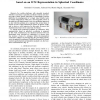 Control of an pseudo-omnidirectional, non-holonomic, mobile robot based on an ICM representation in spherical coordinates