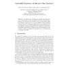 Controlled Invariance of Discrete Time Systems