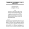 Controlling the Complexity of HMM Systems by Regularization