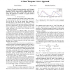 Controlling the phase of an oscillator: A phase response curve approach