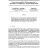 Convergence and Rate of Convergence of a Manifold-Based Dimension Reduction Algorithm