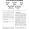 Convergence of stochastic search algorithms to gap-free pareto front approximations