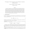 Convergence of type-symmetric and cut-balanced consensus seeking systems