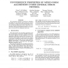 Convergence properties of mixed-norm algorithms under general error criteria