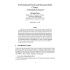 Conversational Events and Discourse State Change: A Preliminary Report