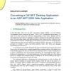 Converting a C#/.NET Desktop Application to an ASP.NET 2005 Web Application