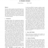 Convex Hull of the Union of Convex Objects in the Plane: an Adaptive Analysis