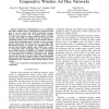 Cooperative Bridges: Topology Control in Cooperative Wireless Ad Hoc Networks
