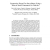 Cooperative forest fire surveillance using a team of small unmanned air vehicles