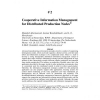 Cooperative Information Management for Distributed Production Nodes