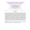 Cooperative Multi-relay Scheme for Secondary Spectrum Access