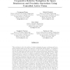 Cooperative Relative Navigation for Space Rendezvous and Proximity Operations using Controlled Active Vision