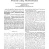 Cooperative Security for Network Coding File Distribution