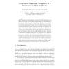 Cooperative Stigmergic Navigation in a Heterogeneous Robotic Swarm