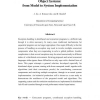 Coordinated Exception Handling in Distributed Object Systems: From Model to System Implementation