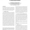 Coordinating change of agents' states in situated agents models