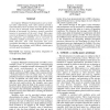 Coordination of Perceptual Processes for Computer Mediated Communication
