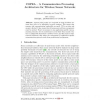COPRA - A Communication Processing Architecture for Wireless Sensor Networks