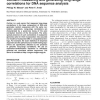 CorGen - measuring and generating long-range correlations for DNA sequence analysis