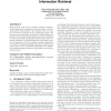 Corpus structure, language models, and ad hoc information retrieval