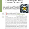 Countering Terrorism through Information and Privacy Protection Technologies