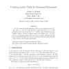 Counting Lattice Paths by Narayana Polynomials