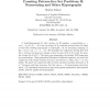 Counting Pattern-free Set Partitions II: Noncrossing and Other Hypergraphs